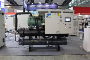 40HP Germany Bitzer Compressor Water Cooled Screw Type Chiller pictures & photos