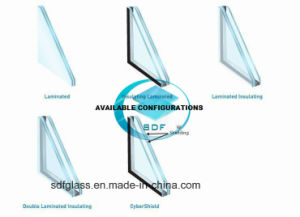 Laminated Glass Stairs with CE, ISO pictures & photos