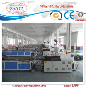 Wood-Plastic Composite Profile Extrusion Machinery pictures & photos