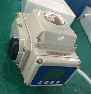 Modulating Electric Actuator with LCD Display pictures & photos