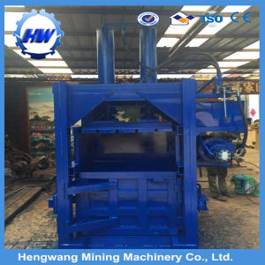 Bale Packing Machine/Electric Vertical Hydraulic Cotton Baler Machine pictures & photos