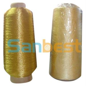 Gold Metallic Embroidery Thread with Rayon Core Yarn pictures & photos