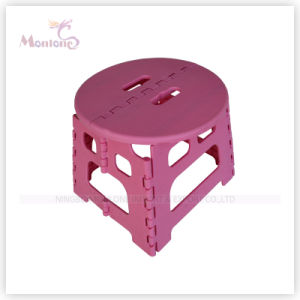 Foldable Round Plastic Stool Baby Chair pictures & photos