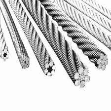 S. S. Wire Ropes with Test Certificates 3.1b