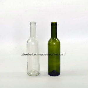 200ml, 375ml, 750ml Bordeaux Type Cork Top Glass Wine Bottle pictures & photos