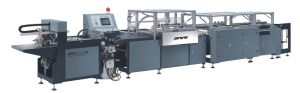 Automatic Covering Machine with Cover (QFM-460) pictures & photos