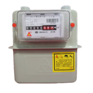 Intelligent Directly Read Resident Gas Meter with OIML Certified pictures & photos