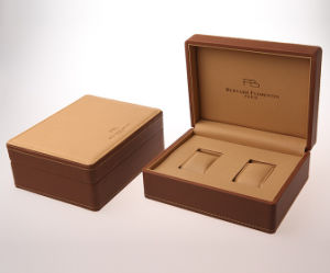 Best Selling PU Leather Box for Lover Watches (WB-920) pictures & photos