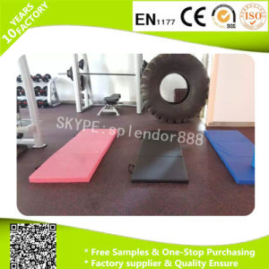 Anti-Slip Indoor Gym Crossfit Fitness Rubber EPDM Flooring Mats pictures & photos