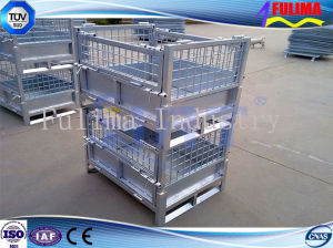 Steel Wire Mesh Storage Cage for Warehouse/Workshop (FLM-K-001) pictures & photos