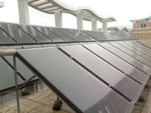 Solar Energy Water Heater (flat plate) pictures & photos