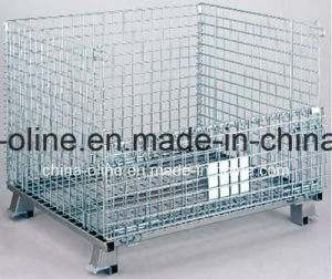 Wire Mesh Top Open Storage Basket pictures & photos