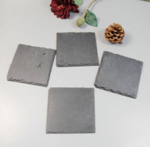 Cheap Hot Natural Slate Coaster Set pictures & photos