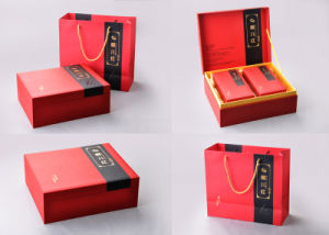 Rigid Cardboard Paper Tea Packaging Box and Paper Tea Bag pictures & photos