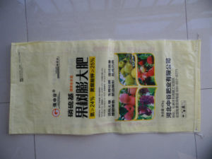 High-Ranking BOPP Laminated Woven Poly Dog Feed Bag pictures & photos