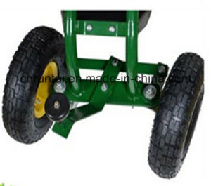 Garden Tool Heavy Duty Rolling Seats Cart pictures & photos