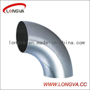 Sanitary Stainless Steel Welded 90 Deg Elbow pictures & photos