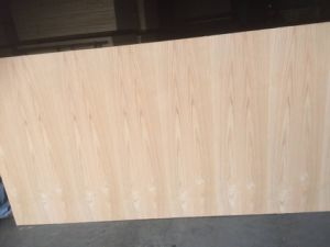 Natural Red Oak Fancy Door Skin Plywood in South America pictures & photos