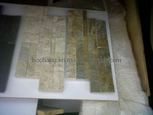 Natural Culture Stone Green Grey Slate pictures & photos