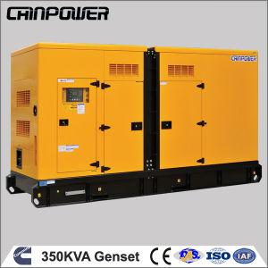 280kw Silent Diesel Generator Set with Cummins Engine Nta855-G2a