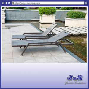 Outdoor Patio Furniture ,PE Wicker Adjustable Pool Chaise Lounge Chair (J4295) pictures & photos