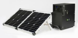 200W Folding Solar Panel for Camping with 10m Cable pictures & photos