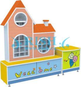 Glass Shower Corner Shelf for Kids (RS143)