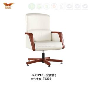 High Quality Office Leather Chair with Armrest (HY-2521C)