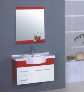 PVC Bathroom Cabinet Furniture (B-504) pictures & photos