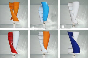 200W Small Home Vertical Axis Wind Turbines pictures & photos