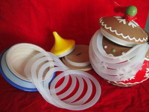 Kitchen Custom FDA Airtight Silicone Seal for Glass Storage Jar