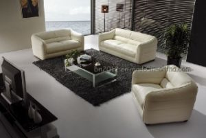 Living Room Genuine Leather Sofa (SBL-371) pictures & photos