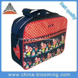 300d Polyester Airline Messenger Document Shoulder Sling Leisure Bag pictures & photos