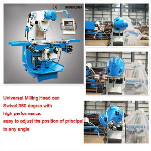 X Y Z Axis Automatic Feeding Universal Milling Machine (LM1450) pictures & photos