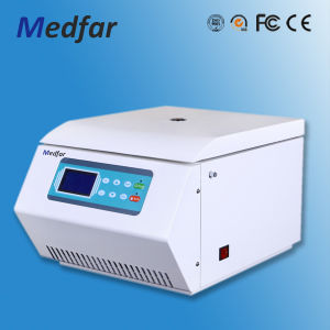 Medfar Micro Benchtop High-Speed Centrifuge Mfl16-W pictures & photos