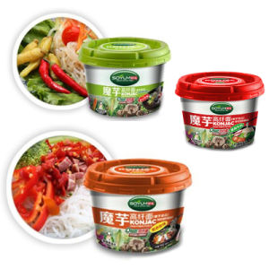 Konnyaku Slimming Food Instant Cup Noodle pictures & photos