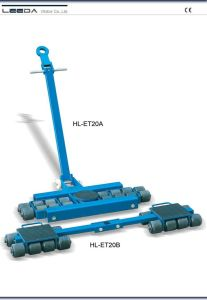 40 Ton Steerable and Ajustable Skates (HL-ET20) pictures & photos