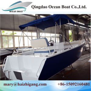 5.8m Cuddy Cabin with Hardtop Aluminum Saltwater Fishing Boats with Ce pictures & photos