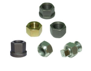 10.9 Wheel Hub Bolt Steel Nut Hex Nut Round Nut