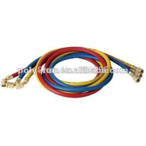 3 Color 3/8′′ 600psi-3000psi 90cm Premium Refrigerant Freon Charging Filling Hose Pr2218 pictures & photos