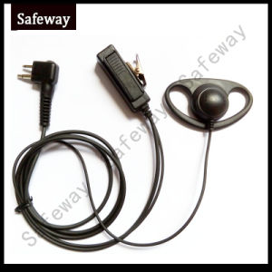 Walkie Talkie D Earhook Headset for Motorola Ep450 Cp200 pictures & photos
