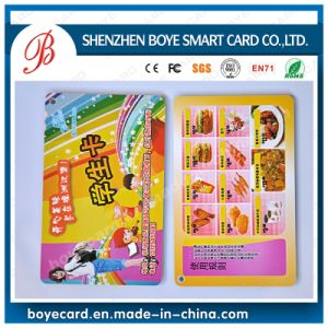 13.56MHz MIFARE High Frequency Combo Plastic Smart Card pictures & photos