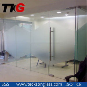 3-12mm Acid Etched Glass for Office Glass pictures & photos