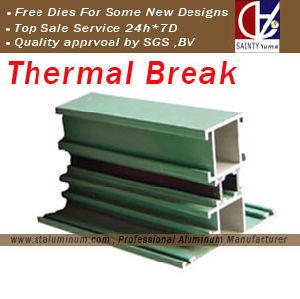 Thermal Break Profile for Window and Door (ST-YM011)