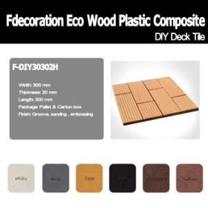9 Models to Choose Wood Plastic Composite WPC Tiles pictures & photos