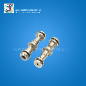 Precision CNC Lathe Machine Parts with Aluminum, Stainless Steel, Brass Optional