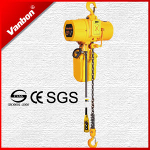 0.5t Electric Chain Hoist Fixed Type Dual Speed pictures & photos