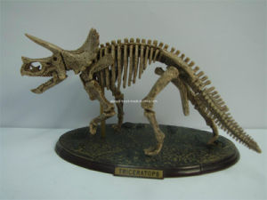 Plastic Artifical Dinosaur Fossil Art Crafts