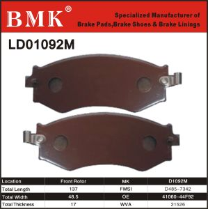 Environment Friendly Brake Pads (D1092M) pictures & photos