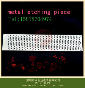 Chemcial Etching Plated Shim